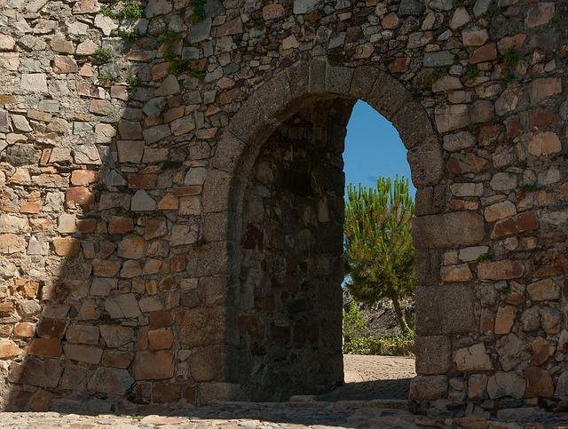 Door, Ark, Wall, Rampart