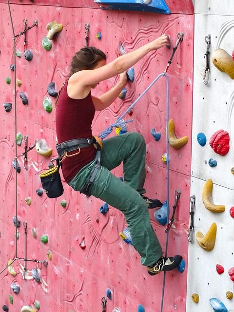 Climber, Woman, Arm Strength, Strong, Climb