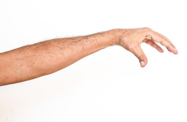 White Background, Hand, White, Man, Arm