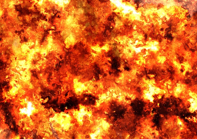 Fireball, Fire, Brand, Armageddon, Explosion, Big Bang