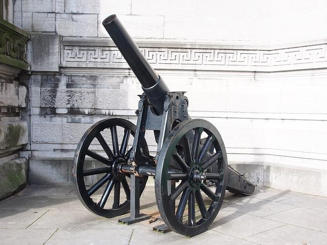 Artillery, Royal, Museum, Armed Forces, Cannon
