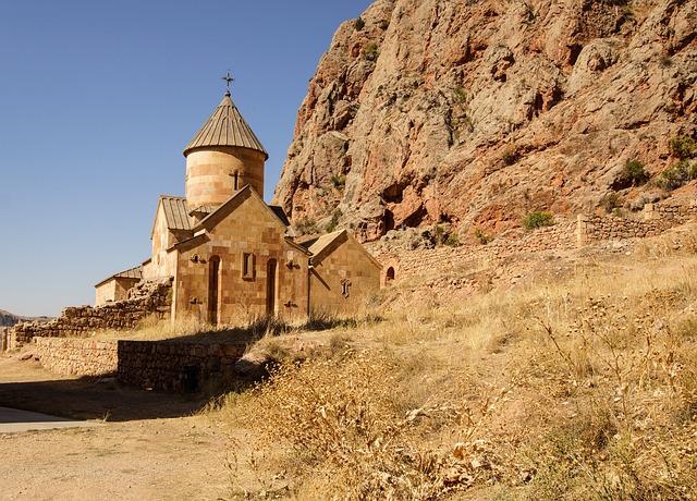 Church, Monastery, Noravank, Armenia, Architecture