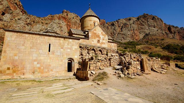 Church, Monastery, Noravank, Armenia, Architecture