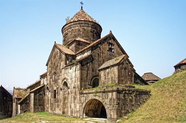 Armenia, The Monastery Of Haghpat, Holy Cross Church