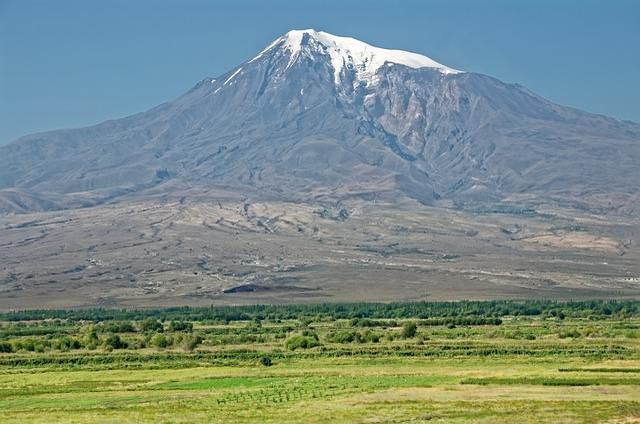 Armenia, Ararat, Landscape, Mountain, Turkey