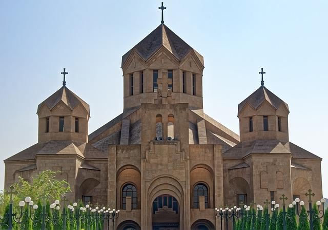 Armenia, Yerevan, Cathedral Hl