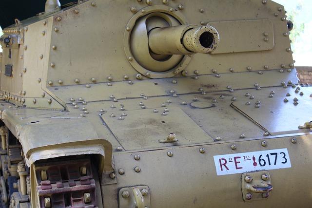 Tank, Howitzer, Cannon, Armor, Army, War, Battle