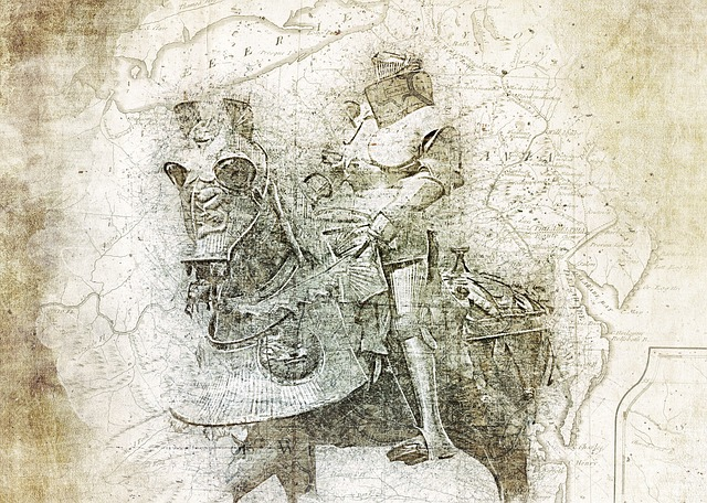 Crusader, Horse, Armor, Medieval, Helmet, History