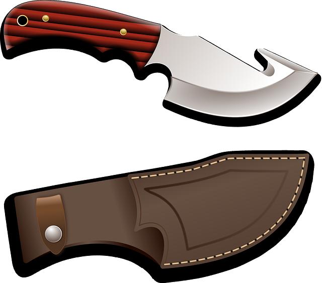 Knife, Weapon, Sharp, Hunter, Arms, Danger, Battle