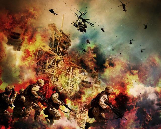War, Soldiers, Warrior, Explosion, Guns, Army, Fire