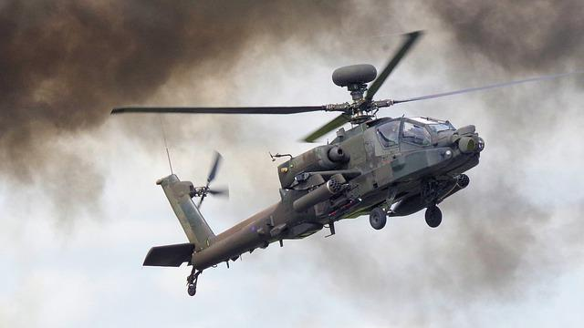 Helicopter, Apache, Military, Army, Chopper, Attack