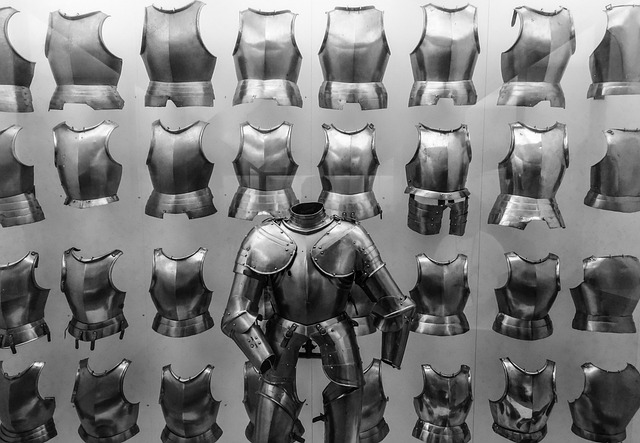 Museum, Breastplate, Armor, Knight, Metal, Army, Order