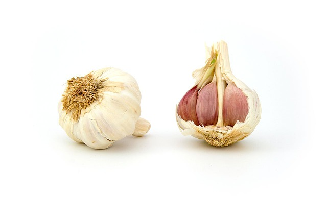Free photo Flu Garlic The Common Cold Antibiotic Medication