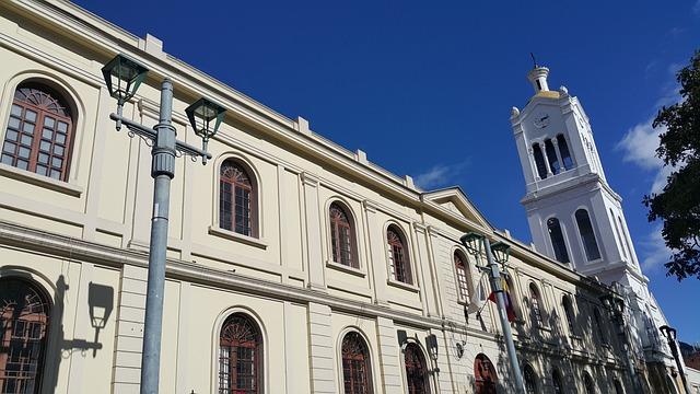 Iglesia, Cielo, Azul, Arquitectura, Bogotá