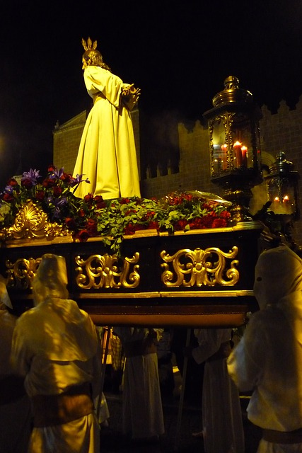 Jesus, Father, Arrest, Easter, Procession, Passion