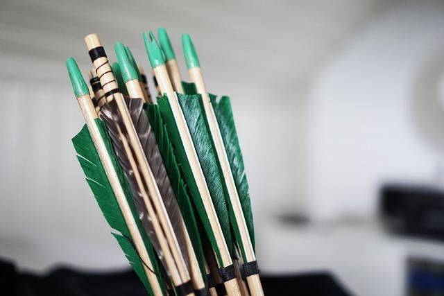 Arrows, Bow And Arrow, Shooting, Archery, Arrow