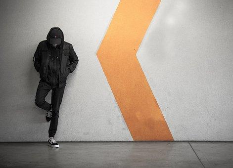 Subway, Person, Man, Wait, Arrow, Direction, Metro
