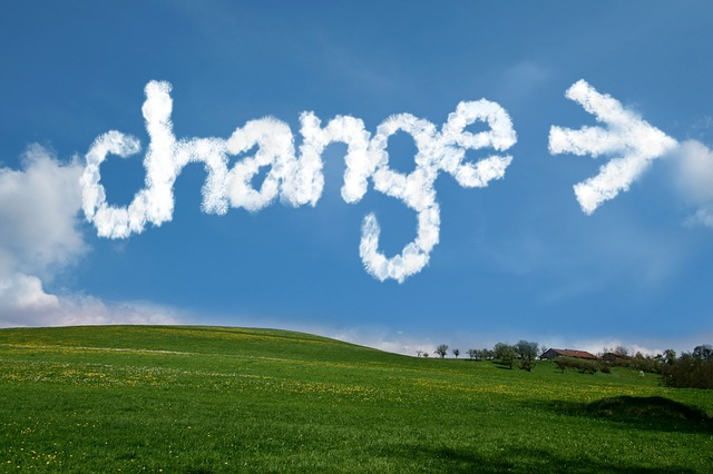 Change, Arrows, Clouds, Sky, Direction, Start