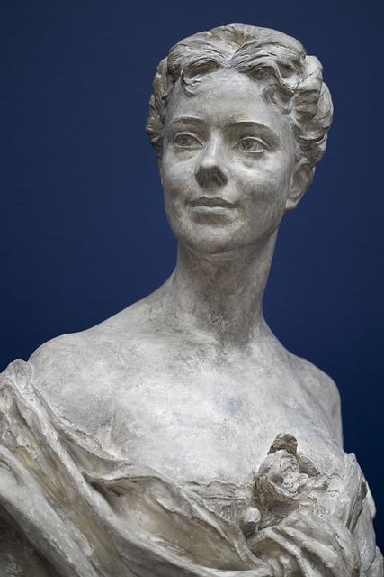 Sculpture, Statue, Art, Ancient, Face, Stone, Woman