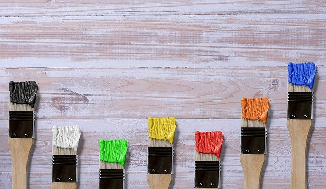Brush, Color, Wood, Art, Art And Craft, Empty, Colorful