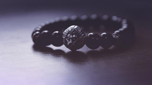 Accessory, Art, Beads, Black, Bracelet, Shadow