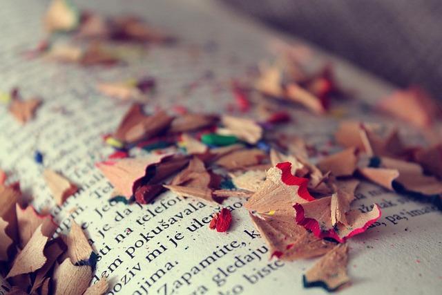 Books, Reading, Colors, Art, Vintage, Pencils, Shavings