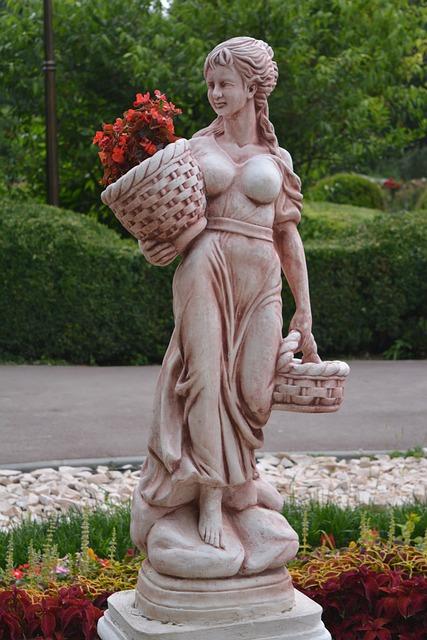 Statue, Craiova, Botanical Park, Romania, Art, Monument