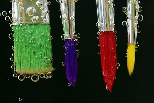 Brush, Color, Painting, Paint, Art, Colorful, Fun, Blow