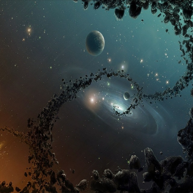 Composing, Abstract, Space, Fantasy, Mysterious, Art