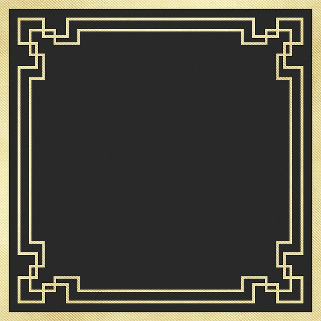 Digital Paper, Art Deco Background, Art Nouveau