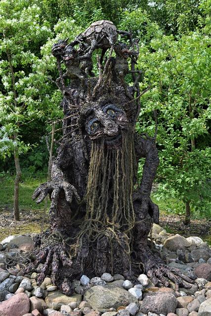Dino Park, Tree Figure, Figure, Dino Land, Art
