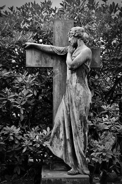 Statue, Fig, Sculpture, Woman, Art, Face, Tombstone