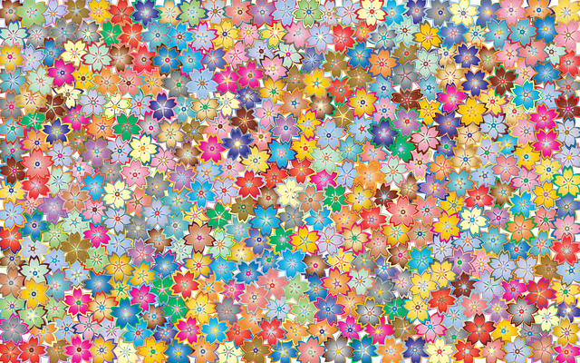 Floral, Flowers, Abstract, Art, Background, Wallpaper