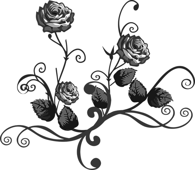 Abstract, Art, Decorative, Floral, Flourish, Flower