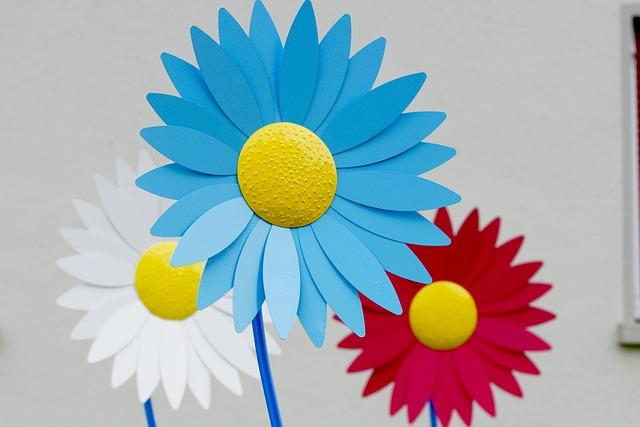 Flower, Form, Margarithe, Art, Color