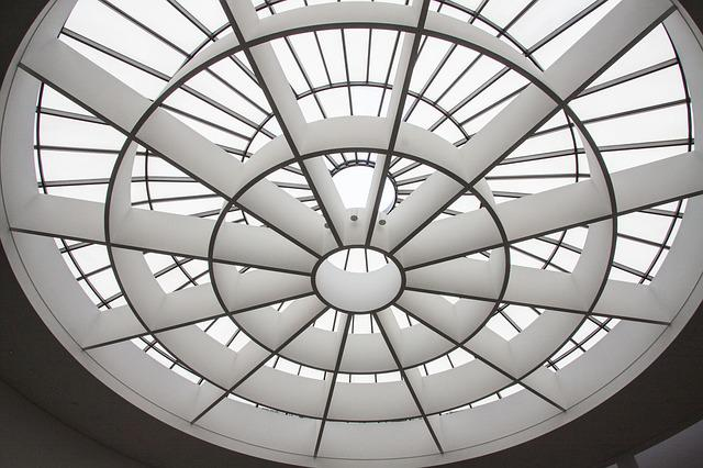 Dome Light, Architecture, Entrance Hall, Art Gallery
