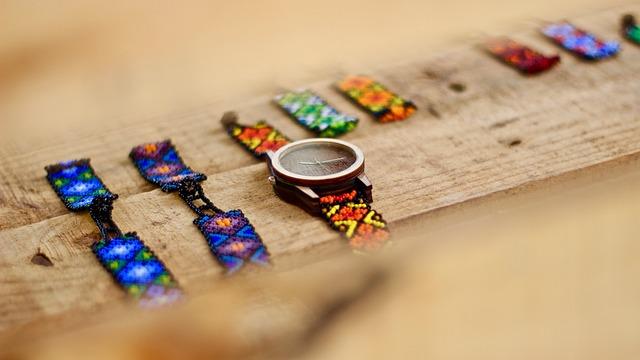 Watch, Craft, Huichol Craft, Mexican Craft, Art