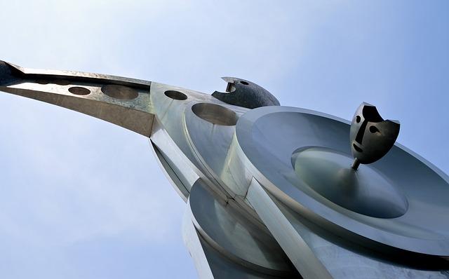 Sculpture, Metal, Art, Figure, Statue, Metallic, Modern
