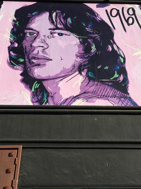 Mick Jagger, Music, Art