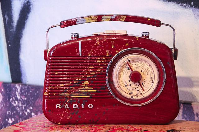 Radio, Portable Radio, Transistor Radion, Old, Art