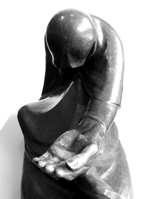 Religion, Art, Sculpture, Consolation, Wood, Hamburg