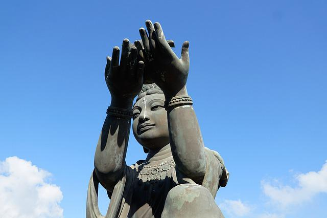 Sculpture, Statue, Sky, Art, Travel, Religion, Human
