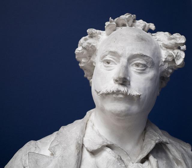 Sculpture, Statue, Portrait, Art, People, Dumas, Man