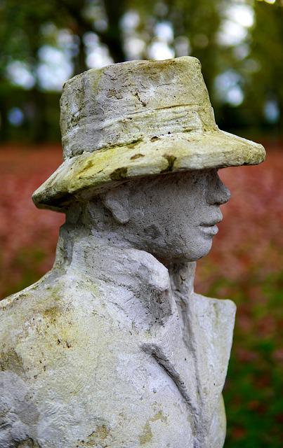 Statue, Sculpture, Art, Stone Figure, Man, Hat