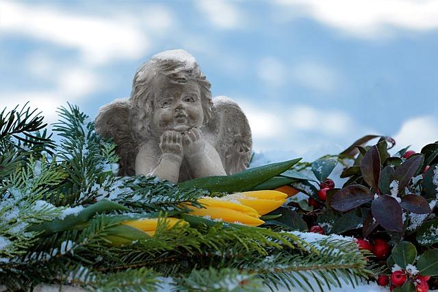 Still Life, Angel, Sitting, Decoration, Art Stone