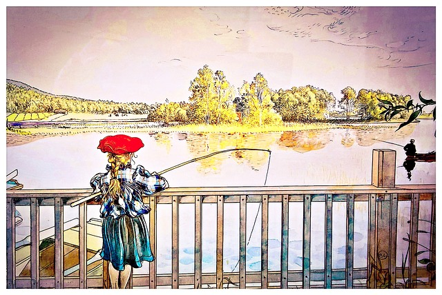 Sweden, Art, Swedish Artist Carl Larsson