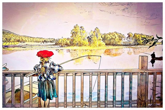 Sweden, Art, Swedish Artist Carl Larsson