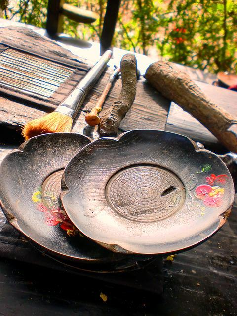 Tables, Beautiful, China Wind, Traditional, Art