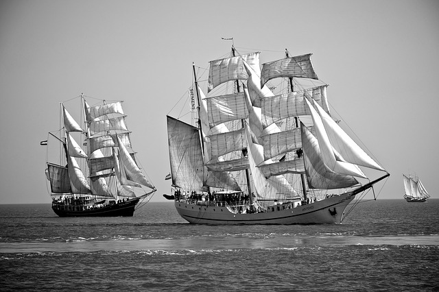 Ship, Artemis, Windjammer, Canvas