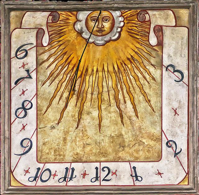 Sundial, Historically, Artfully, Old, Time Indicating